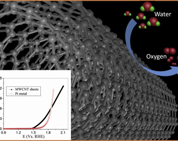 Free-standing carbon nanotubes as non-metal electrocatalyst for oxygen evolution reaction in water splitting